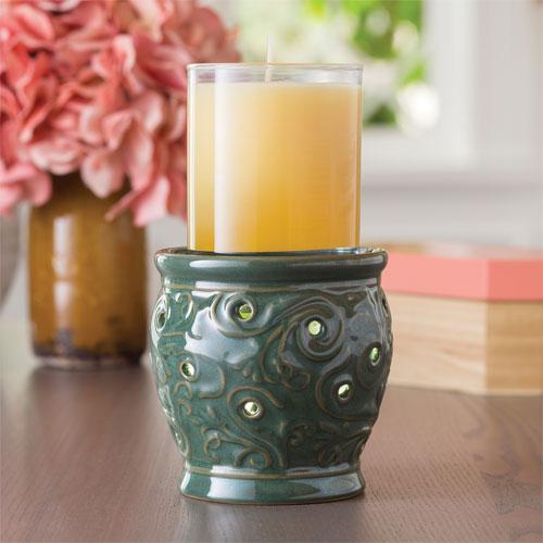 Oceanside 2-in-1 Flickering Fragrance Warmer