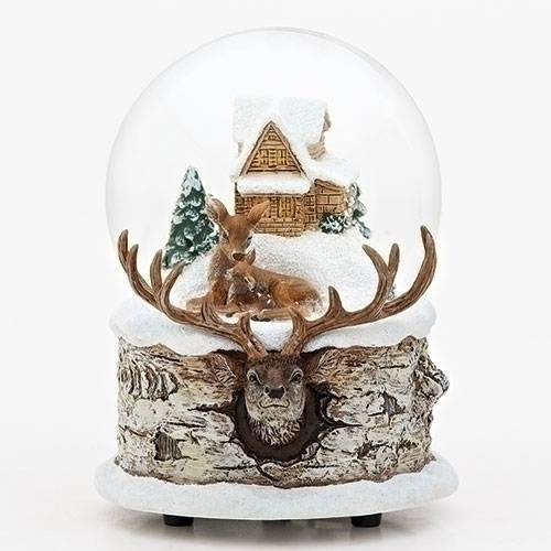 Musical Deer by Cabin Glitter Dome