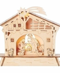 Lighted Nativity Scene