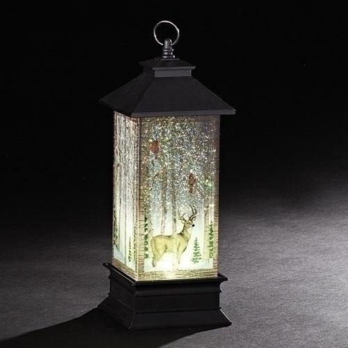 Lighted Swirl Forest Lantern | Confetti Lites