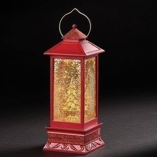 Lighted Swirl Gold Tree Lantern   Confetti Lites