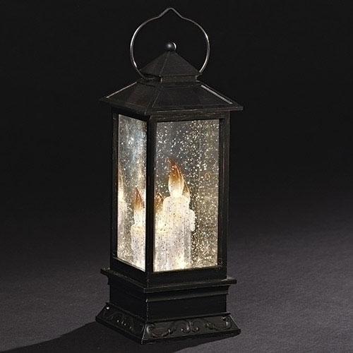 Lighted Swirl Candle Lantern | Confetti Lites
