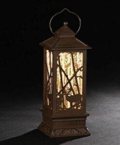 Lighted Swirl Tree Lantern | Confetti Lites