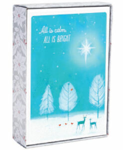 All Is Calm, All Is Bright | 18 Select Collection Christmas Boxed Cards