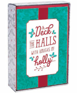 Deck The Halls | 18 Select Collection Christmas Boxed Cards