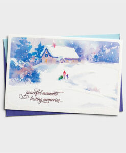 Peaceful Moments | 18 Premium Christmas Boxed Cards