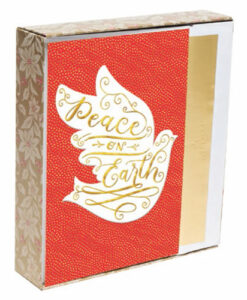 Peace On Earth | 18 Premium Christmas Boxed Cards