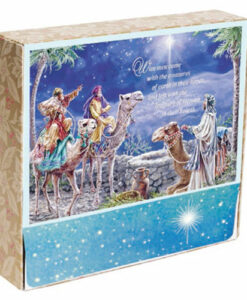 Wise Men Came With Treasurers - Dona Gelsinger | 18 Premium Christmas Boxed Cards