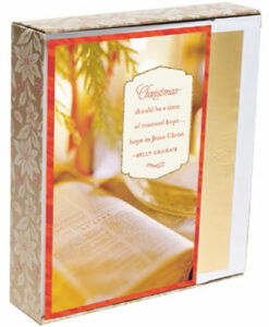 A Time of Renewed Hope - Billy Graham | 18 Premium Christmas Boxed Cards