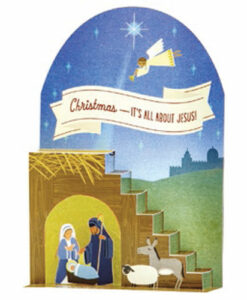 Nativity Pop-up   12 Christmas Boxed Cards