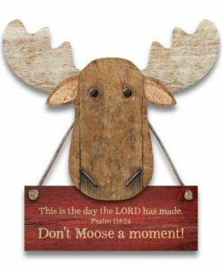 Chocolate Moose Magnet | Don't Moose A Moment