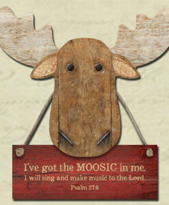 Chocolate Moose Magnet | I've Got The Moosic In Me