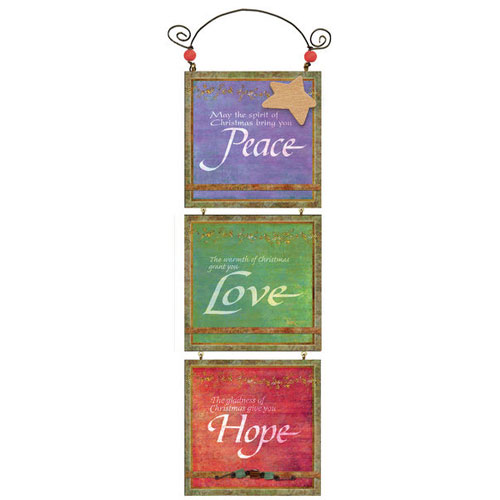 You're My Star Triple Plaque | Peace, Love, Hope