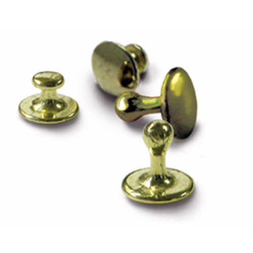 Clerical Clergy Collar Studs Gold (Pack of 4)