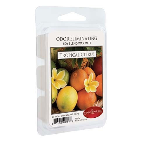 Tropical Citrus 2.5 oz Odor Eliminating Melts