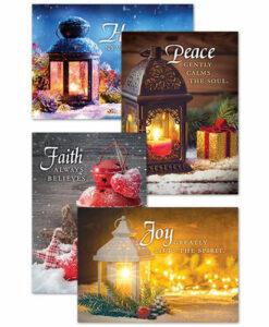 Christmas Lanterns | 12 Christmas Boxed Cards