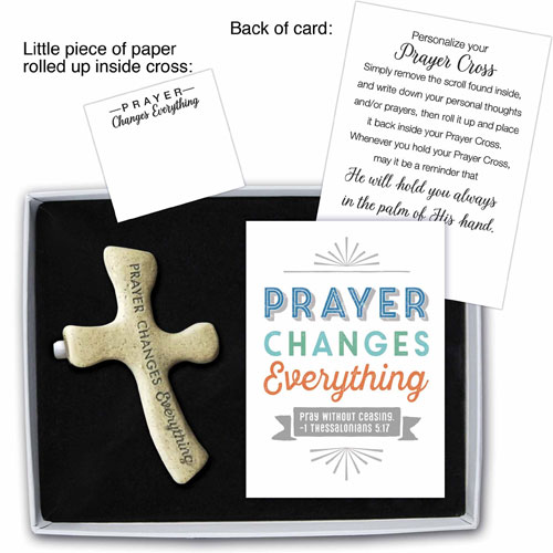 Palm Prayer Cross | Prayer Changes Everything