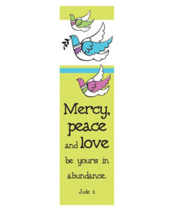 Bookmark Mercy, Peace and Love