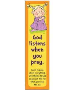Bookmark God Listens
