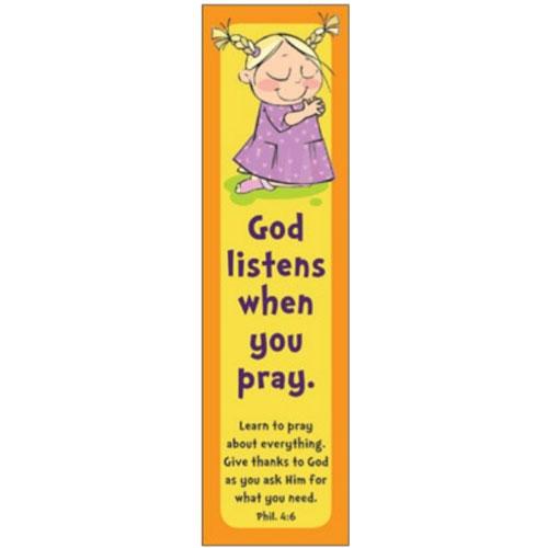 Bookmark God Listens