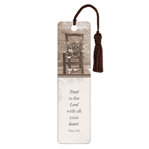 Bookmark Trust In The LORD with Tassel