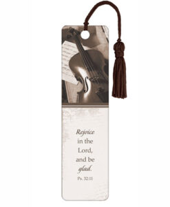 Bookmark Rejoice In The LORD with Tassel