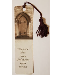 Bookmark When One Door Closes with Tassel