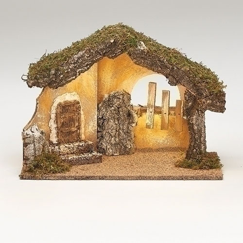 """LED Italian Stable for Fontanini® 5"""" Nativity Collection"""
