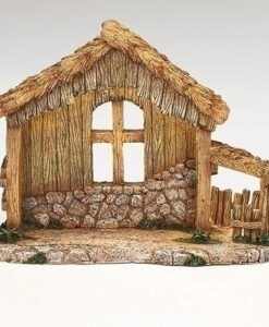 "LED Stable for Fontanini® 5"" Nativity Collection"