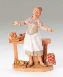 "Zofia Fruit Merchant Village Figure for Fontanini® 5"" Nativity Collection"