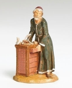 "Zacchaeus Tax Collector Village Figure for Fontanini® 5"" Nativity Collection"
