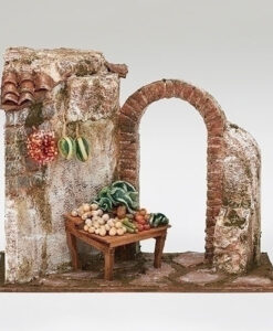 "Produce Shop Village Building for Fontanini® 5"" Nativity Collection"