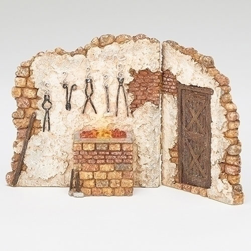 "Blacksmith Shop Village Building for Fontanini® 5"" Nativity Collection"