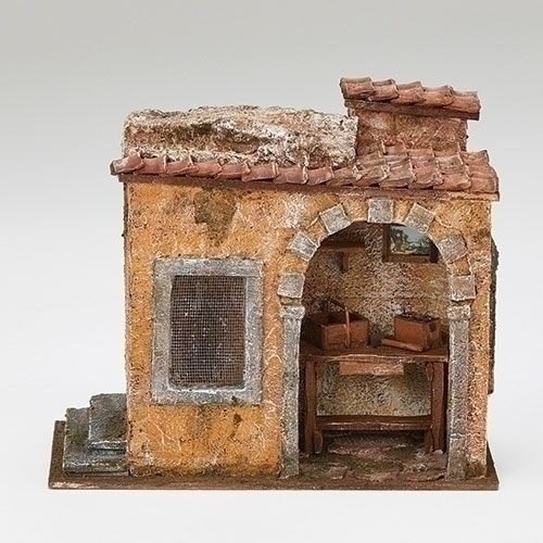 "Carpenter Shop Village Building for Fontanini® 5"" Nativity Collection"