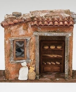 "Bakery Shop Village Building for Fontanini® 5"" Nativity Collection"