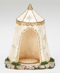 "Ivory Tent Three Kings Village Building for Fontanini® 5"" Nativity Collection"