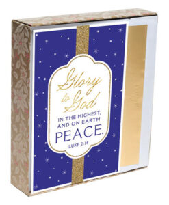 Glory To God In The Highest Inspirational Christmas Cards | 18 Christmas Boxed Cards