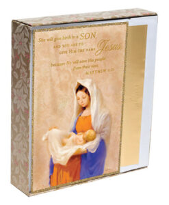 She Will Give Birth To A Son Inspirational Christmas Cards | 18 Christmas Boxed Cards