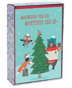 Wherever You Go Inspirational Christmas Cards | 18 Christmas Boxed Cards