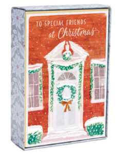 Special Friends Holiday Wreath Inspirational Christmas Cards | 18 Christmas Boxed Cards