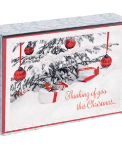 Thinking Of You This Christmas Inspirational Christmas Cards | 18 Christmas Boxed Cards