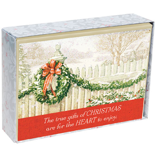The True Gifts Of Christmas Inspirational Christmas Cards   18 Christmas Boxed Cards