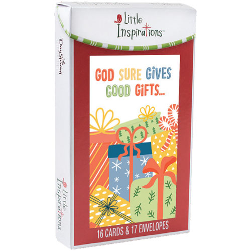 God's Gifts Little Inspirations Christmas Cards | 16 Christmas Boxed Cards