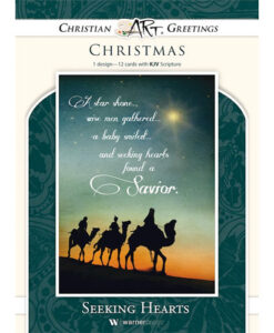 Seeking Hearts | 12 Christmas Boxed Cards, Matthew 2:2 KJV