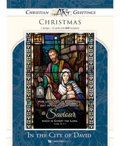 In The City Of David | 12 Christmas Boxed Cards, Luke 2:11 KJV