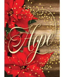 Hope Is Born Anew | 12 Christmas Boxed Cards, Romans 13:15 KJV