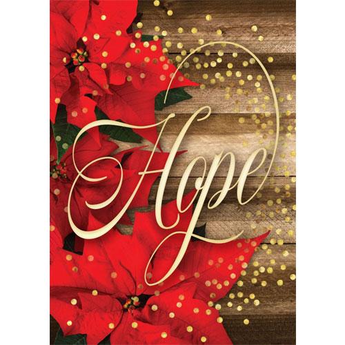 Hope Is Born Anew | 12 Christmas Boxed Cards, Romans 13:15 KJV