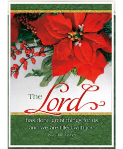 We Are Filled With Joy | 12 Christmas Boxed Cards, Psalm 126:3 NIV