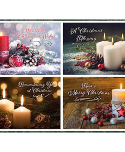 Heartfelt Christmas Wishes | 12 Christmas Boxed Cards